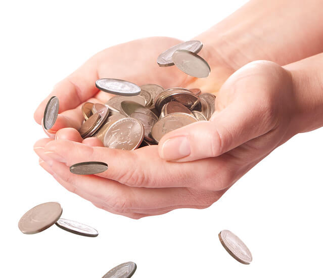 difficulty counting money alzheimers elder handle money properly