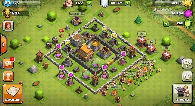 playthrough clash of clans facts
