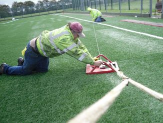 proper landscaping synthetic turf